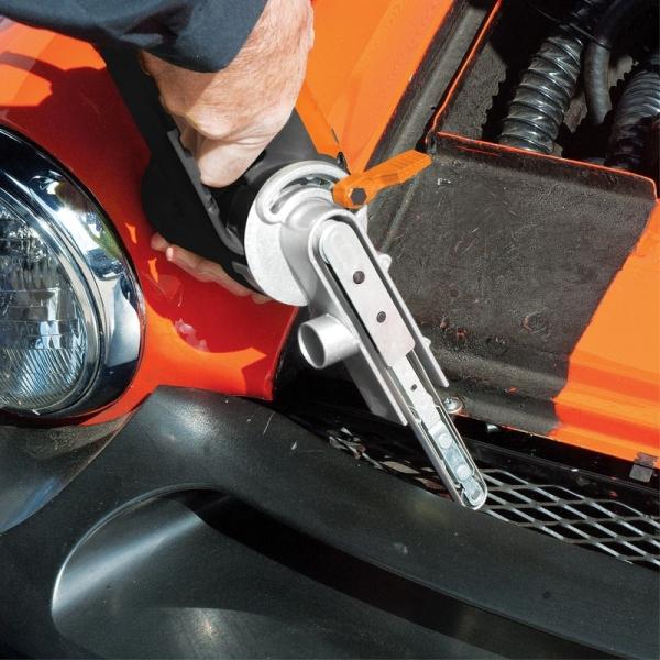 Mașină de șlefuit oscilobatantă cu bandă Evolution EVOFILESANDER2EU, 400 W, 300-1700 rpm 9