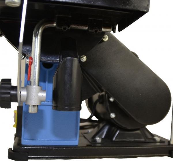Mașină de șlefuit cu bandă staționară si disc șlefuitor GBTS 400 Guede 55135, 350 W, 1450 rpm 4