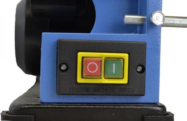 Mașină de șlefuit cu bandă staționară si disc șlefuitor GBTS 400 Guede 55135, 350 W, 1450 rpm 3