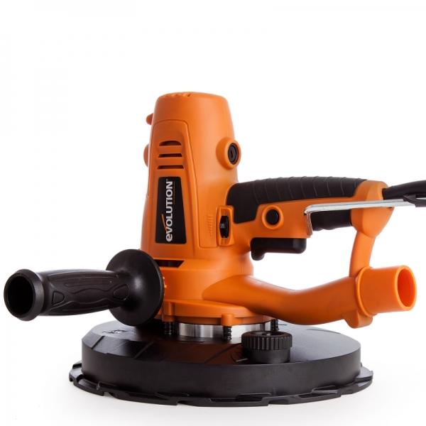 Mașină de șlefuit rotativă pentru gips carton Evolution EB225DWSHH EVO069-0003-3664, 1050 W, 2300 rpm 1