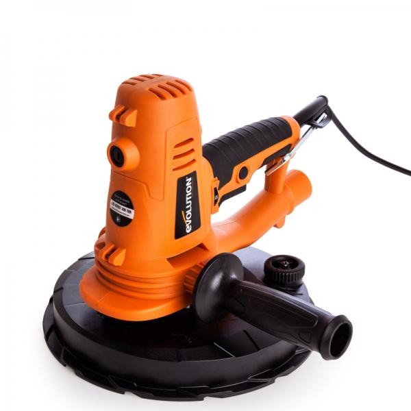 Mașină de șlefuit rotativă pentru gips carton Evolution EB225DWSHH EVO069-0003-3664, 1050 W, 2300 rpm 0