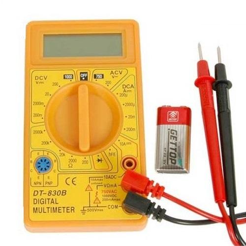 Multimetru digital Wert W2450, DC-AC, 500 V 0