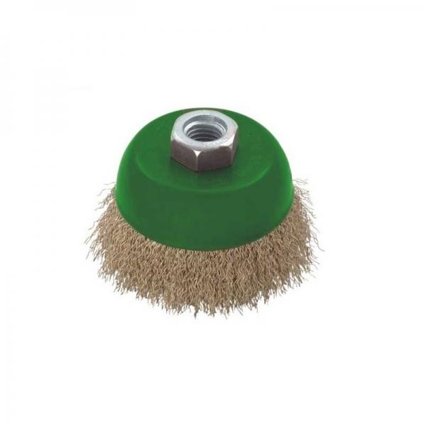Perie de sarma tip cupa Troy T27710-100, 100 mm 0