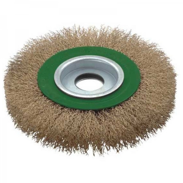 Perie de sarma circulara Troy T27704-125, 125 mm 0
