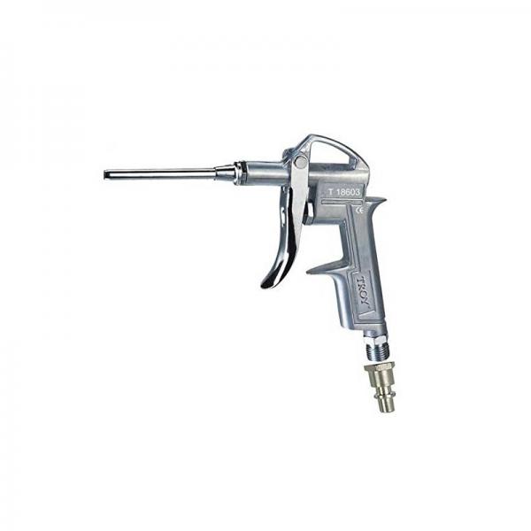 """Pistol de suflat pneumatic Troy T18603, duza de 100 mm, 1/4"""" (N)PT 0"""