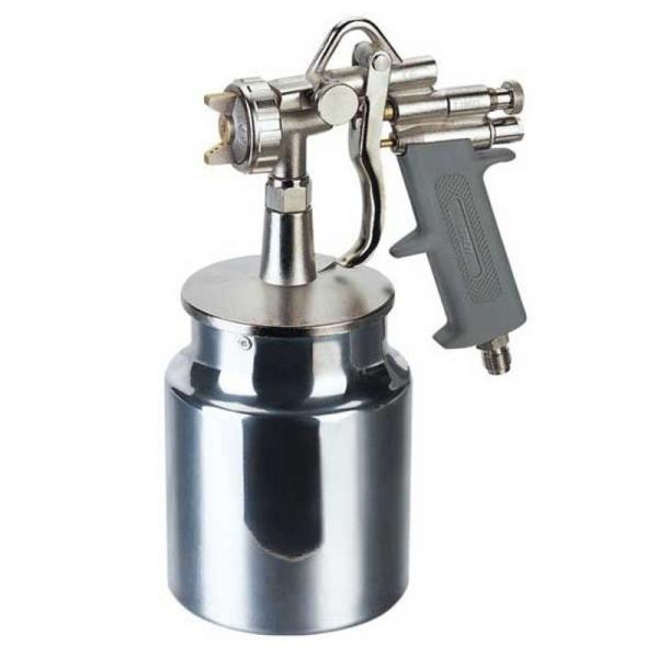 Pistol de vopsit cu aer comprimat alimentare prin suctiune Troy T18678, 1000 ml, Ø1.8mm 0