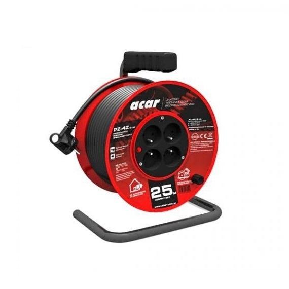 Prelungitor electric pe tambur Acar A82478, 25 m 0