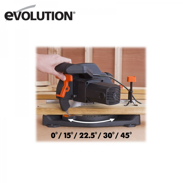 Fierastrau circular de masa multifunctional R210CMS EU Evolution EVO046-0003A, 1200 W, Ø 210 mm 8