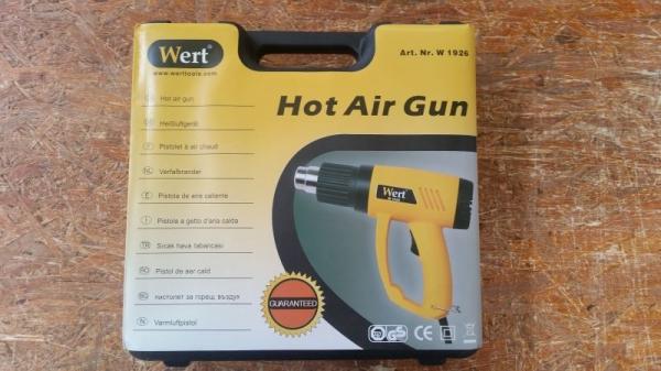 Pistol cu aer cald Wert W1926, 2000 W, 350-600 °C 3