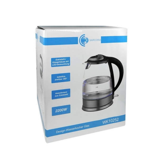 Fierbator de apa Sarcona HEU15343, 2200 W, 1,8 litri 3