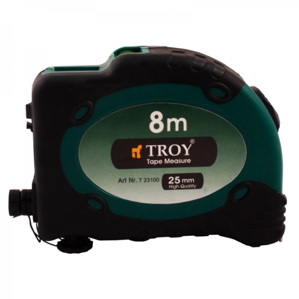 Ruleta cu laser Troy T23100, 8 m x 25 mm 0