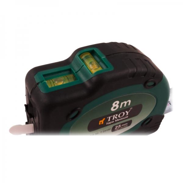 Ruleta cu laser Troy T23100, 8 m x 25 mm 4