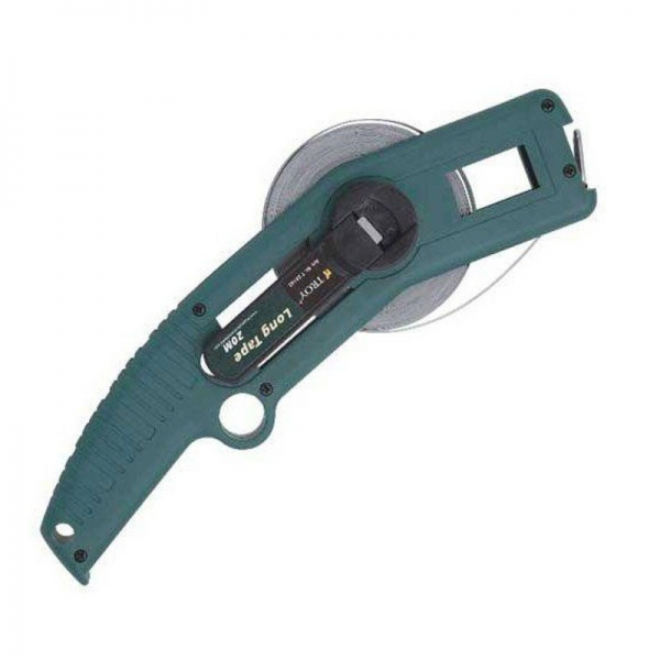Ruletă de teren  cu braț 20m, 13×0.18mm Troy T23142 0