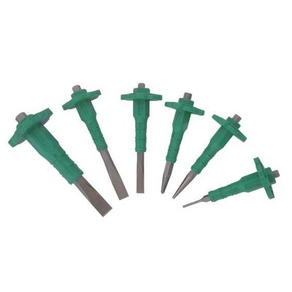 Set șpițuri și dălți Troy T27052, 85-90 mm, 6 piese 0