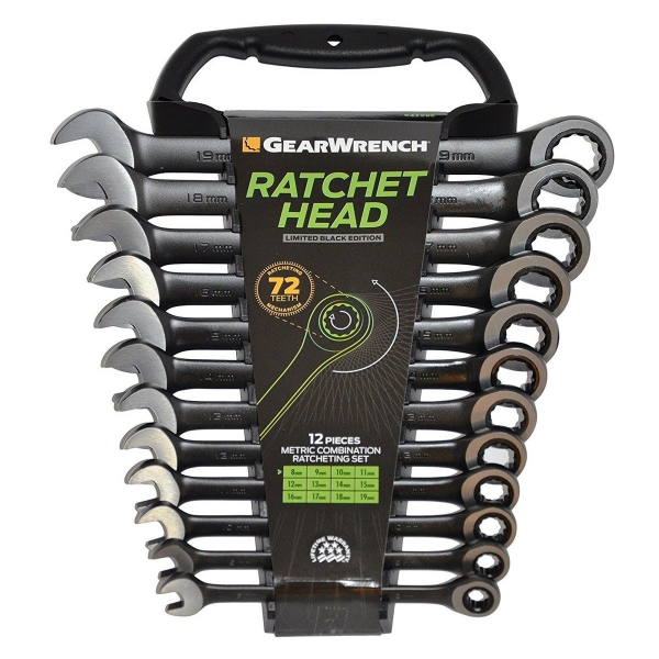 Set chei combinate GearWrench GW9412BE, Ø8-19 mm, 12 piese 1