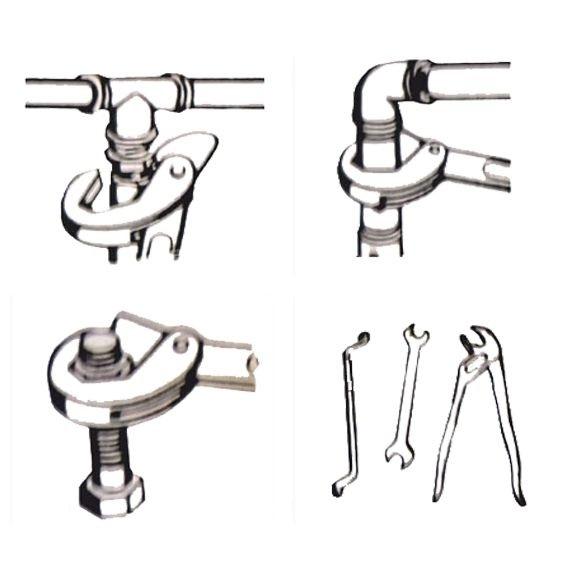 Set chei universale tip Spanner (9-32mm) WERT 4