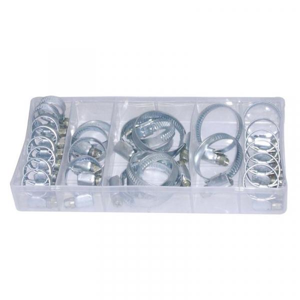 Set coliere metalice Vintec VNTC74508, Ø16-40 mm, 26 piese 1