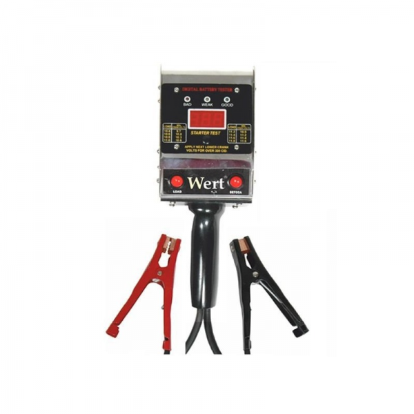 Tester digital baterii Wert W2658, 6-12 V 0