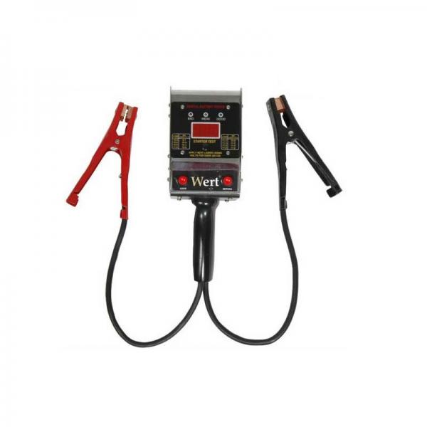 Tester digital baterii Wert W2658, 6-12 V 1