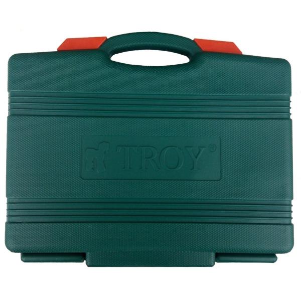 Trusa chei tubulare si biti Troy T26102, 108 piese 8