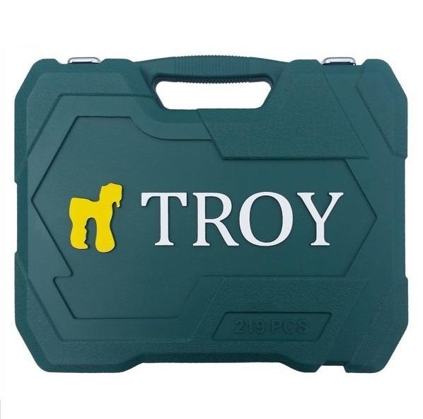 Trusa chei tubulare si biti Troy T26104, 219 piese, 10 Ani Garantie 3
