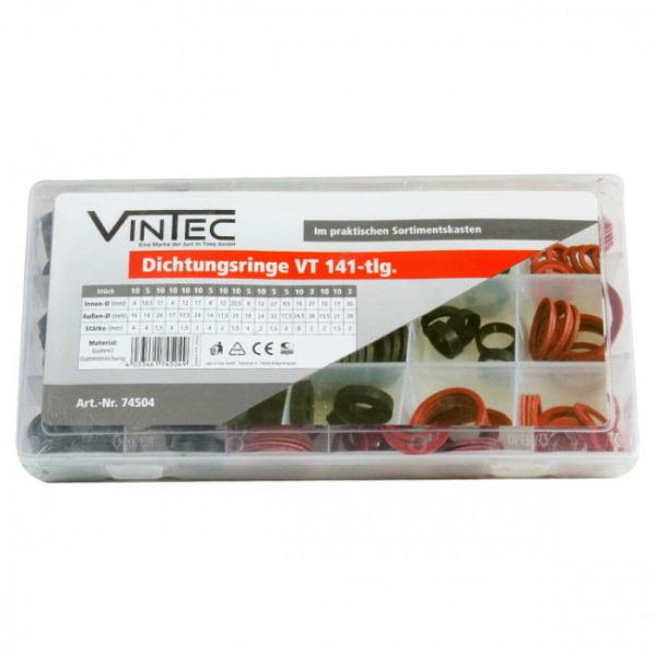 Trusa de garnituri Vintec VNTC74504, 141 piese 0