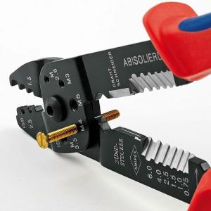 Cleste profesional pentru sertizat Knipex KNI9721215B, 230 mm2