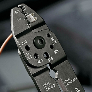 Cleste profesional pentru sertizat Knipex KNI9721215B, 230 mm4