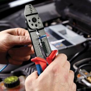 Cleste profesional pentru sertizat Knipex KNI9721215B, 230 mm5