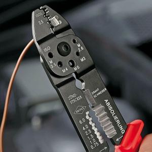 Cleste profesional pentru sertizat Knipex KNI9721215B, 230 mm6