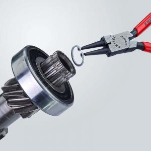 Cleste profesional pentru inele de siguranta Knipex KNI4411J1, 140 mm4