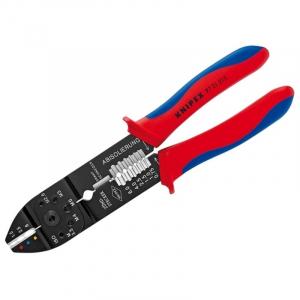 Cleste profesional pentru sertizat Knipex KNI9721215, 230 mm0