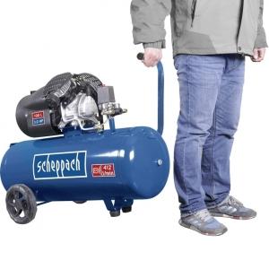 Compresor cu doi cilindrii HC100DC Scheppach SCH5906120901, 2200 W, 100 L, 8 bari1