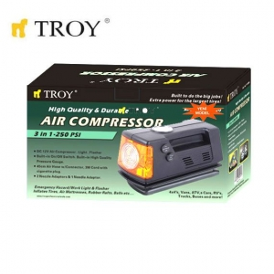 Compresor auto Troy T18250, 12 V, 250 Psi1