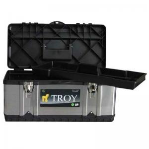 Cutie de scule metalică Troy T91016, 39 x 17 x 17 cm0