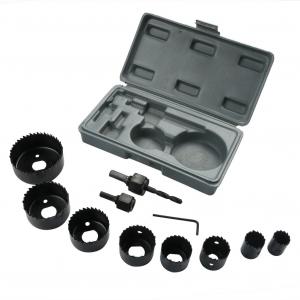 Dispozitiv ajustabil de gaurit gips-carton Wert W2520, Ø22-64 mm, 11 piese1