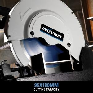 Fierăstrău circular de masă EVOSAW355 Evolution EVO080-0003A, 2200 W, Ø 355 mm2