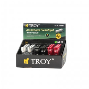 Mini-lanterna led Troy T28095, 12 lm3