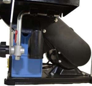 Mașină de șlefuit cu bandă staționară si disc șlefuitor GBTS 400 Guede 55135, 350 W, 1450 rpm4