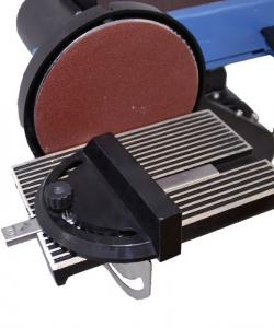 Mașină de șlefuit cu bandă staționară si disc șlefuitor GBTS 400 Guede 55135, 350 W, 1450 rpm5