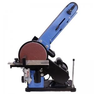 Mașină de șlefuit cu bandă staționară si disc șlefuitor GBTS 400 Guede 55135, 350 W, 1450 rpm2