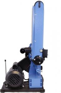 Mașină de șlefuit cu bandă staționară si disc șlefuitor GBTS 400 Guede 55135, 350 W, 1450 rpm6