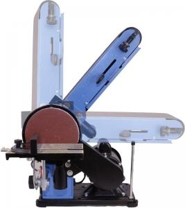 Mașină de șlefuit cu bandă staționară si disc șlefuitor GBTS 400 Guede 55135, 350 W, 1450 rpm7