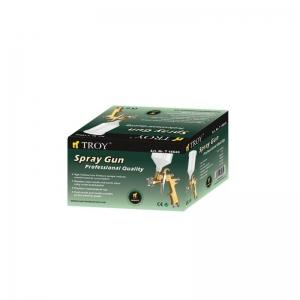 Pistol de vopsit cu aer comprimat profesional Troy T18640, 600 ml, Ø1.4 mm1