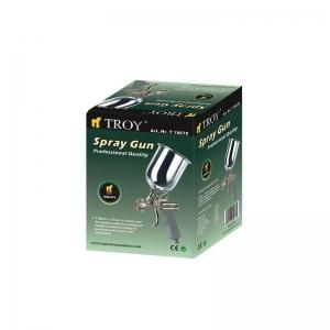 Pistol de vopsit cu aer comprimat Troy T18670, 600 ml, Ø1.5 mm1