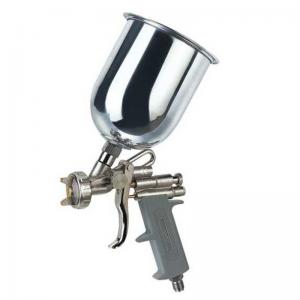 Pistol de vopsit cu aer comprimat Troy T18670, 600 ml, Ø1.5 mm0