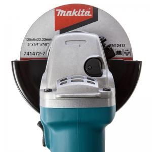 Polizor unghiular Makita MKT9558HNG, 840 W, Ø125 mm3