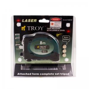 Ruletă cu laser, 8m x 25 mm TROY6