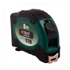 Ruletă cu laser, 8m x 25 mm TROY1