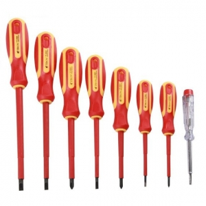 Set surubelnite electrician Troy T22306, 8 piese0